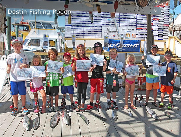 Destin Fishing Rodeo for kids
