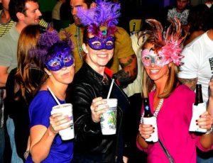 Mardi Gras Pub Crawl HarborWalk Village Destin