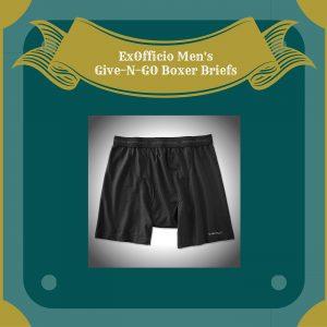 ExOfficio Men's Give-N-GO Boxer Briefs