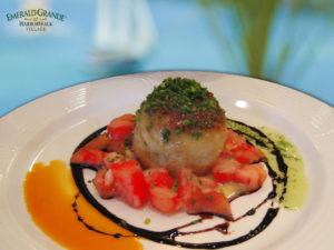 Award Winning Crab Cake Destin Grande Vista Bar & Grill