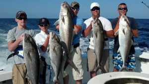charter fishing tour