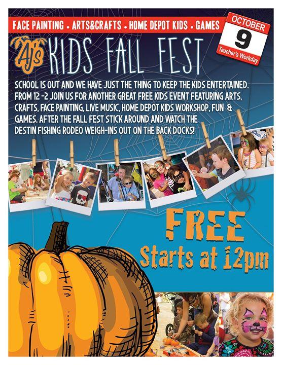 Aj's Kids Fall Fest