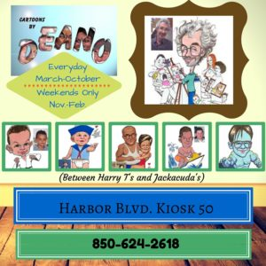 Cartoons by Deano HarborWalk Village