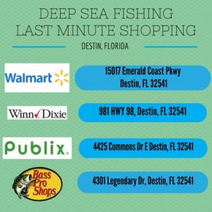 Planning the greatest deep sea fishing adventure of your for Deep sea fishing in destin fl