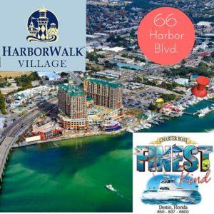 Finding the Finest Kind in Destin, FL deep sea fishing HarborWalk Village