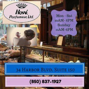 Hove' Parfumeur, Ltd. HarborWalk Village Destin, FL