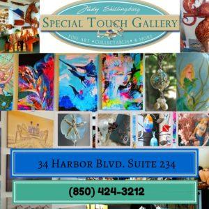 Judy Shillingburg Special Touch Gallery HarborWalk Village Destin, FL (2)