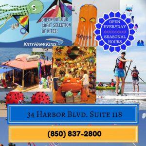 Kitty Hawk Kites HarborWalk Village Destin, FL