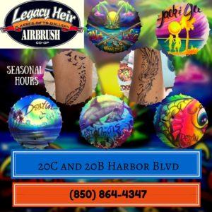 Legacy Heir Airbrush HarborWalk Village