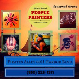People Painters HarborWalk Village Destin, FL