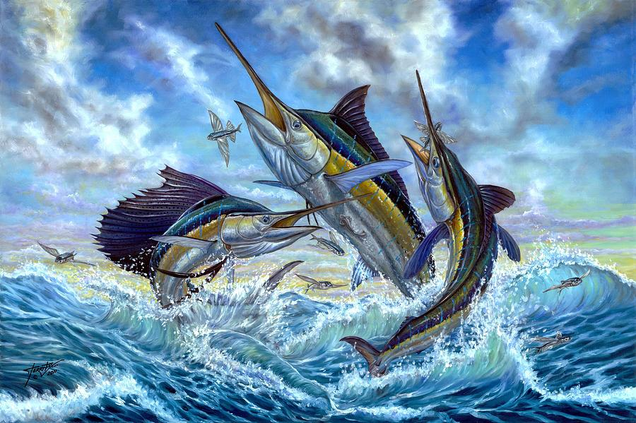 Sailfish and Marlin