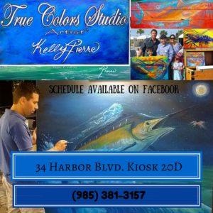 True Colors Studio Featuring Kelly Pierre HarborWalk Village Destin, FL