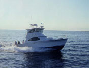 Backlash charter boat off the coast of Destin