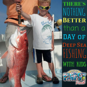 Deep Sea Fishing with Kids