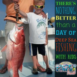 Deep Sea Fishing with Kids