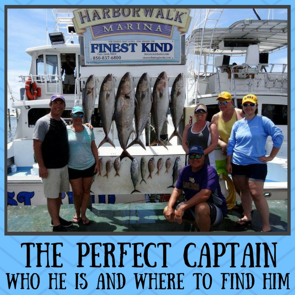 the perfect charter boat captain