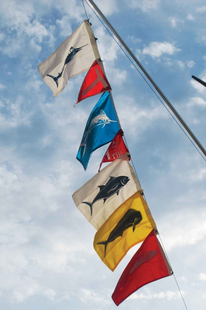 Big Game Fishing Flags